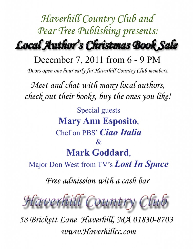 Flyer #1 for the 2011 NEAE Christmas book sale