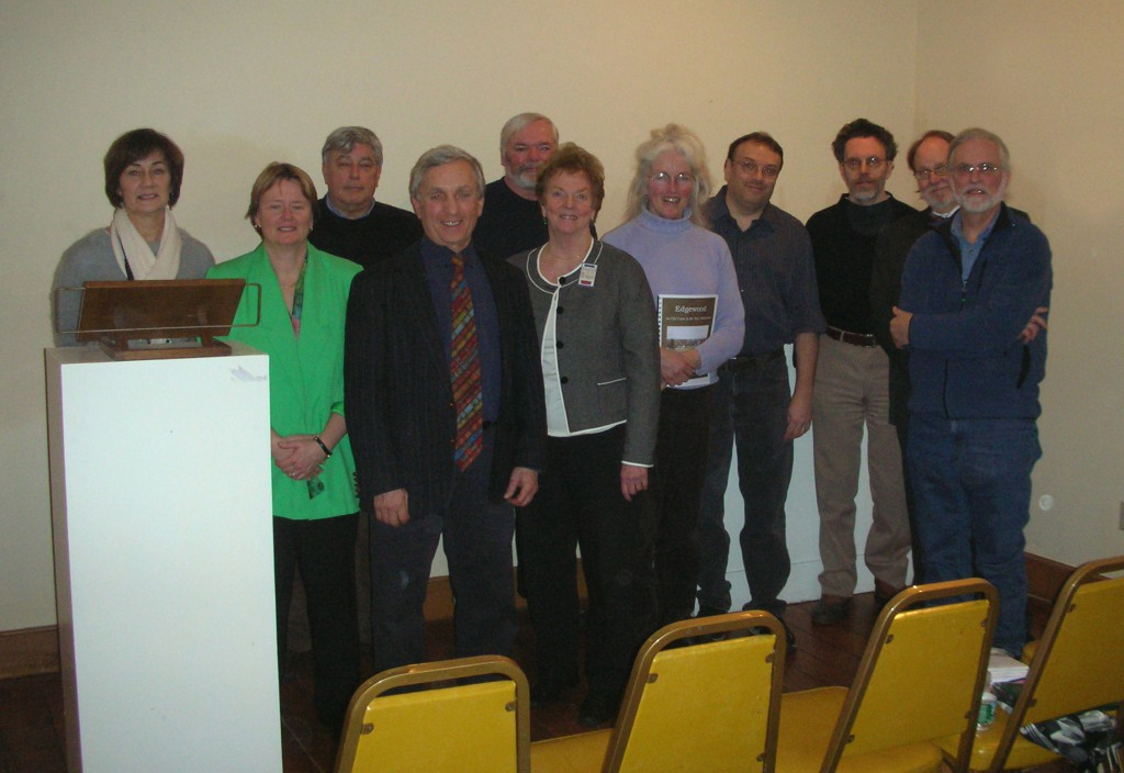 Ken with Jan & Chris and 8 history authors